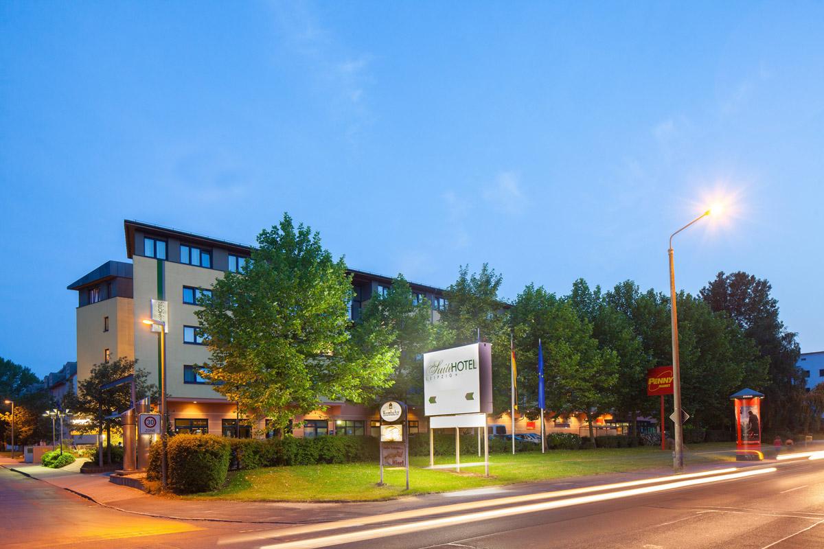 Suite Hotel Leipzig Außenansicht